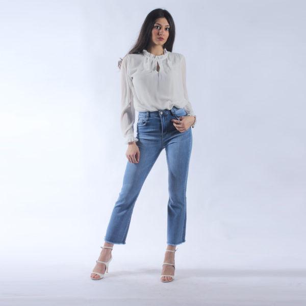 Jeans larghi INVERSO abbigliamento femminile donna emilia romagna stagione primavera estate nuova collezione