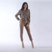"""Camicia zebrata """"INVERSO"""" abbigliamento femminile donna emilia romagna stagione primavera estate nuova collezione"""