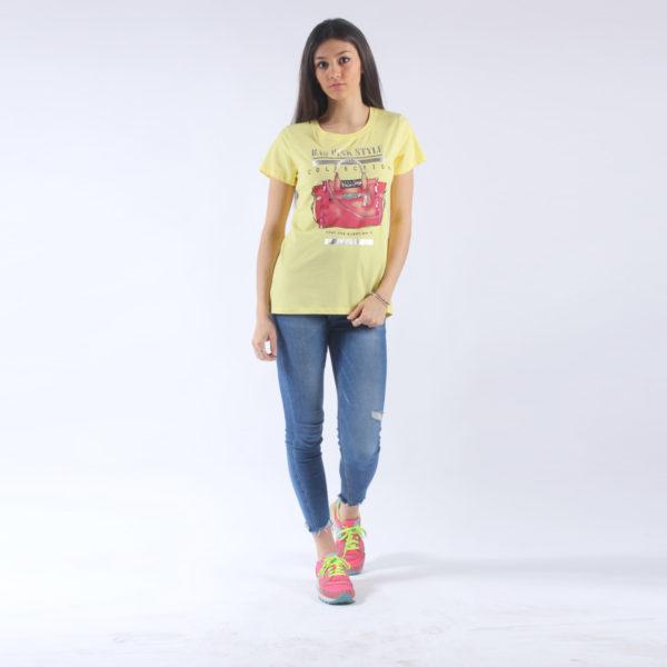 """T-shirt con stampa """"INVERSO"""" abbigliamento femminile donna emilia romagna stagione primavera estate nuova collezione"""
