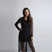 """Abito di tulle """"INVERSO"""" abbigliamento femminile donna emilia romagna stagione autunno inverno nuova collezione"""