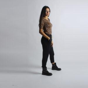 """Blusa maculata """"INVERSO"""" abbigliamento femminile donna emilia romagna stagione autunno inverno nuova collezione"""