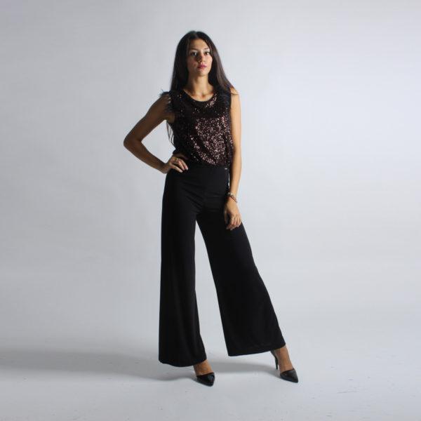 """Pantaloni a palazzo """"INVERSO"""" abbigliamento femminile donna emilia romagna stagione autunno inverno nuova collezione"""
