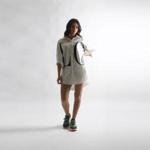 """Camicione con stampa """"INVERSO"""" abbigliamento femminile donna emilia romagna stagione primavera estate 2020 nuova collezione"""