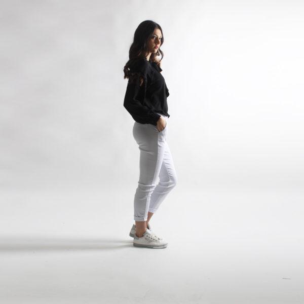 """Camicia con pizzo """"INVERSO"""" abbigliamento femminile donna emilia romagna stagione primavera estate 2020 nuova collezione"""