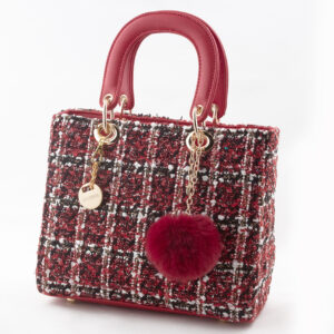 "Borsa tessuto ""INVERSO"" bags borsa new collection autunno inverno 2021 fall winter accessori pronto moda"